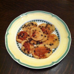 Liz's Chocolate Chip Pancakes